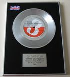 CULTURE CLUB - KARMA CHAMELEON PLATINUM Single Presentation DISC